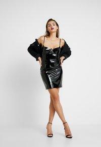 Missguided - HALLOWEEN CAMI MINI DRESS - Vestito estivo - black - 1
