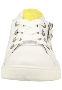 ara - Sneakers - white/yellow - 5