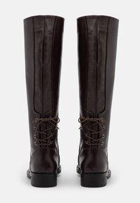 Trendyol - Vysoká obuv - brown - 3