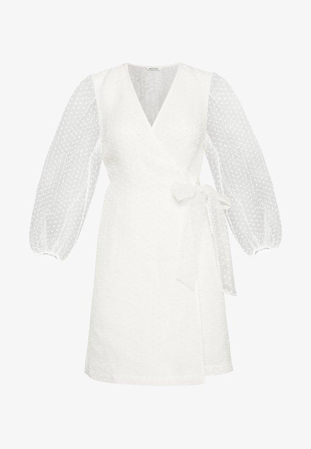 AMY DRESS - Day dress - white