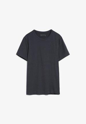 AANTONIO - Basic T-shirt - acid black
