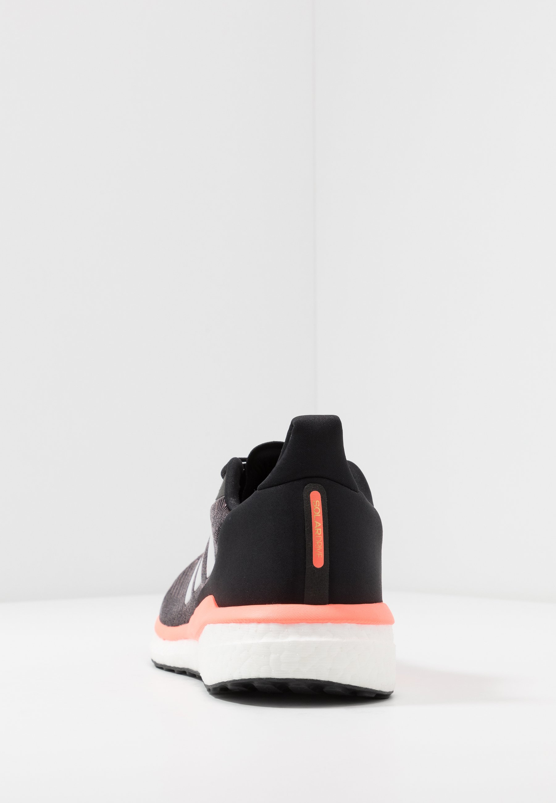 adidas Performance SOLAR DRIVE 19 - Nøytrale løpesko - core black/grey/signal coral