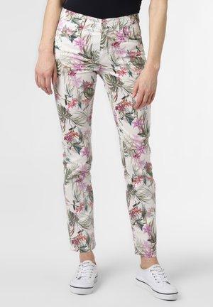 Straight leg jeans - ecru lila