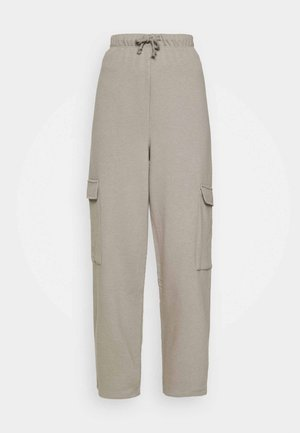 SLOUCH UTILITY JOGGER - Pantaloni sportivi - taupe