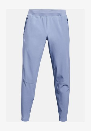 OUTRUN THE STORM - Trousers - washed blue