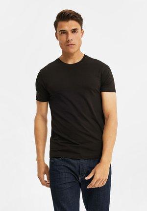2 PACK - Basic T-shirt - black