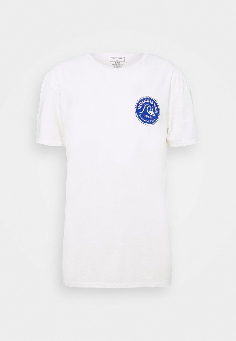 Quiksilver - Print T-shirt - snow white