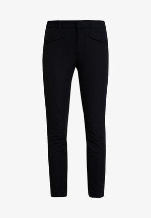BISTRETCH - Trousers - true black