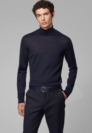 MUSSO - Strickpullover - dark blue