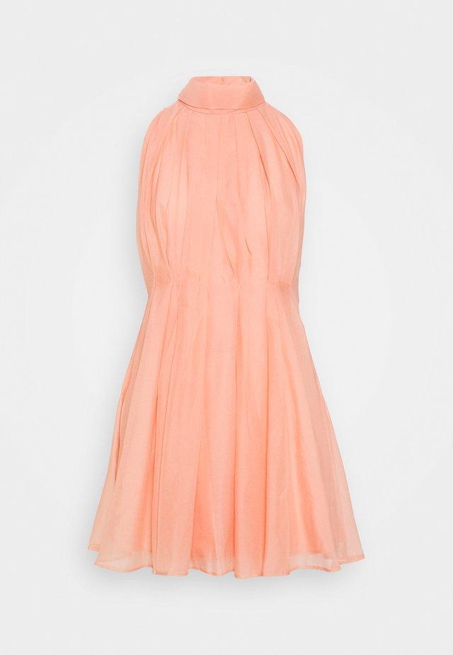 YASLONDON HALTERNECK DRESS SHOW  - Sukienka koktajlowa - cantaloupe