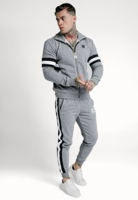 SIKSILK - LUXE ZIP THROUGH FUNNEL NECK - Sudadera con cremallera - grey - 1