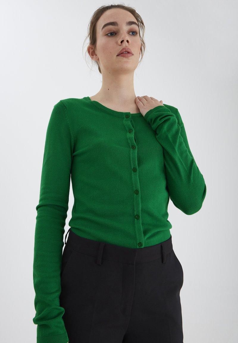 ICHI - MAFA O CA NOOS - Cardigan - green