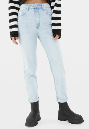 MOM FIT JEANS - Relaxed fit -farkut - light blue