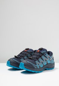 Salomon - XA PRO 3D CSWP - Hiking shoes - navy blazer/mallard blue/hawaiian surf - 3