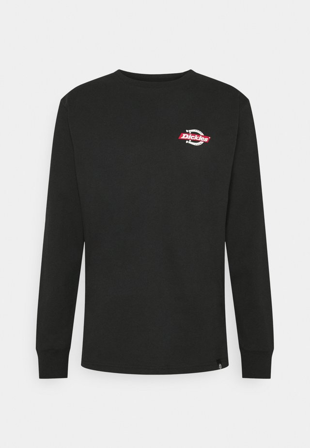 RUSTON - Long sleeved top - black