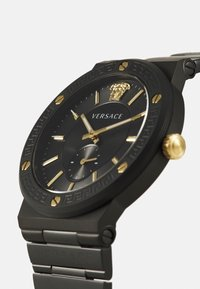 Versace Watches - GRECA LOGO - Watch - black - 5