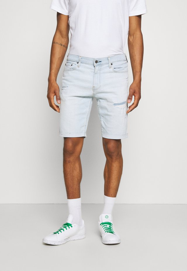 Shorts di jeans - extra light destroy