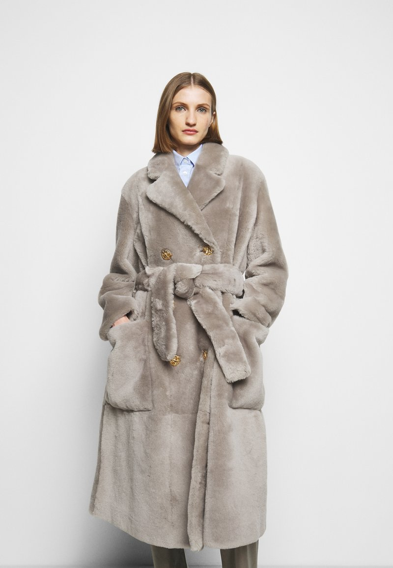 Bally - LUXURY COAT - Klasický kabát - dove
