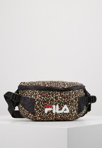Fila - GÖTEBORG LIGHT WEIGHT WAIST BAG - Gürteltasche - black - 0