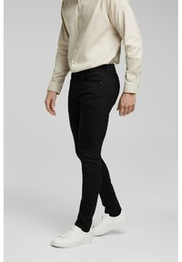 Esprit - Trousers - black rinse - 0