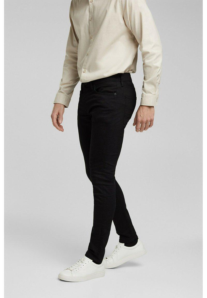 Esprit - Trousers - black rinse
