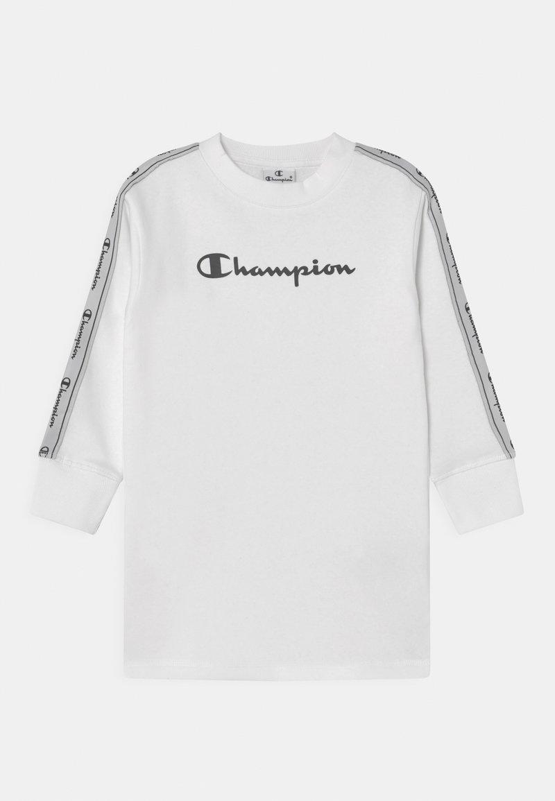 Champion - TAPE MANIA DRESS - Freizeitkleid - white