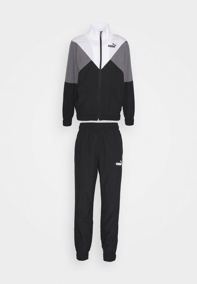 RETRO TRACKSUIT SET - Trainingsanzug - black