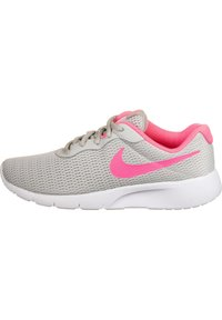 Nike Sportswear - TANJUN SNEAKER KINDER - Zapatillas - grey fog/digital pink/white - 0