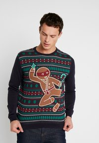 edc by Esprit - CHRISTMAS - Jumper - navy - 0