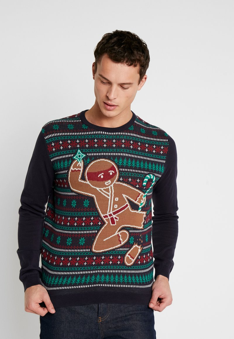 edc by Esprit - CHRISTMAS - Jumper - navy