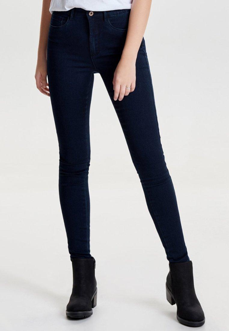ONLY - Skinny džíny - dark blue