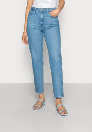 DENA  MOM JEANS  - Straight leg jeans - washed mid blue