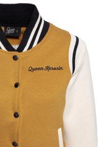 Queen Kerosin - SPEEDWAY QUEENS - Light jacket - hellbraun - 2