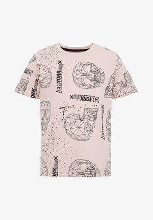 T-shirt print - bordeaux