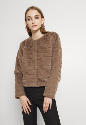 ONLLOUISE JACKET - Winter jacket - taupe gray