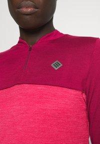 Triple2 - SWET NUL WOMEN - Wielershirt - beet red - 3