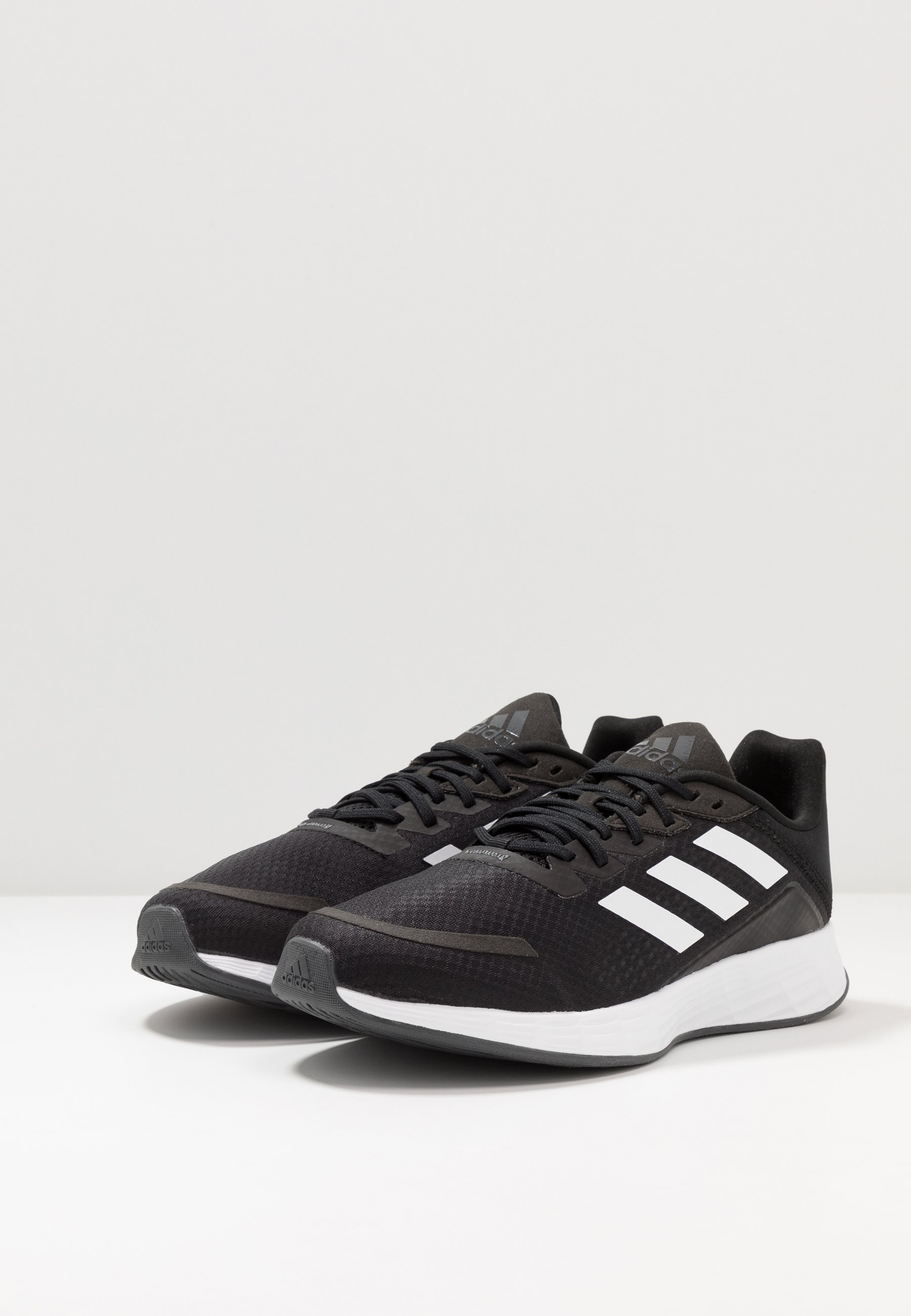 Buy Cheapest adidas Performance DURAMO - Neutral running shoes - core black | men's shoes 2020 BVYSo