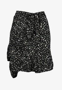 Zwillingsherz - TINA - Wrap skirt - schwarz - 0