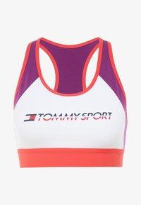 Tommy Hilfiger - BLOCKED BRA MID - Sports bra - purple - 4