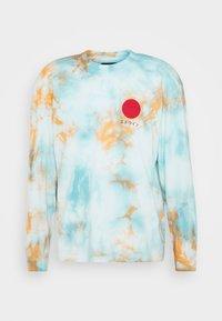 Edwin - JAPANESE SUN - T-shirt à manches longues - blue/cantaloupe - 4