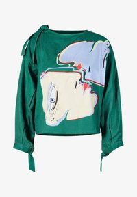 Solai - ABSTRACT FACES  - Light jacket - evergreen - 8