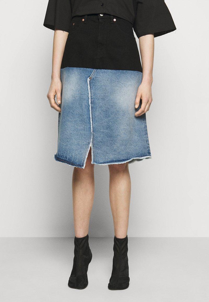 MM6 Maison Margiela - Denim skirt - blue