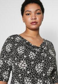 Dorothy Perkins Curve - Jersey dress - black - 3