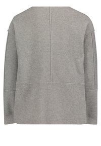 Betty & Co - MIT RUNDHALSAUSSCHNITT - Sweatshirt - braun melange - 4
