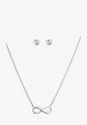SET - Náušnice - silver-coloured