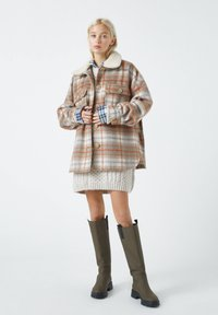 PULL&BEAR - Übergangsjacke - mottled brown - 1