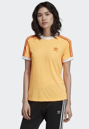 3-STRIPES T-SHIRT - Print T-shirt - orange