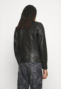 Belstaff - RACER JACKET - Leather jacket - black - 4