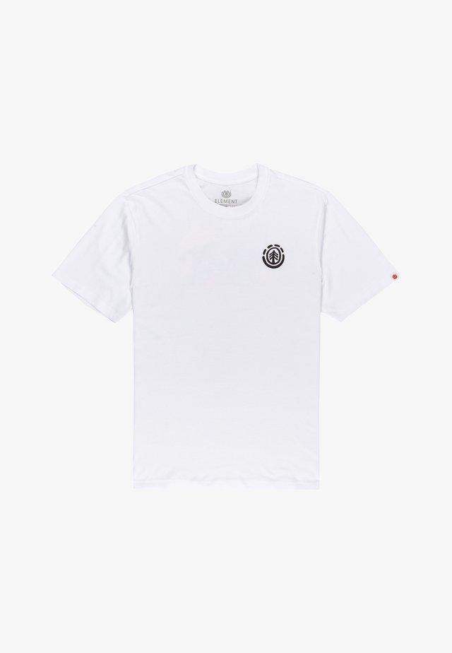 KINWOOD  - T-shirt print - optic white