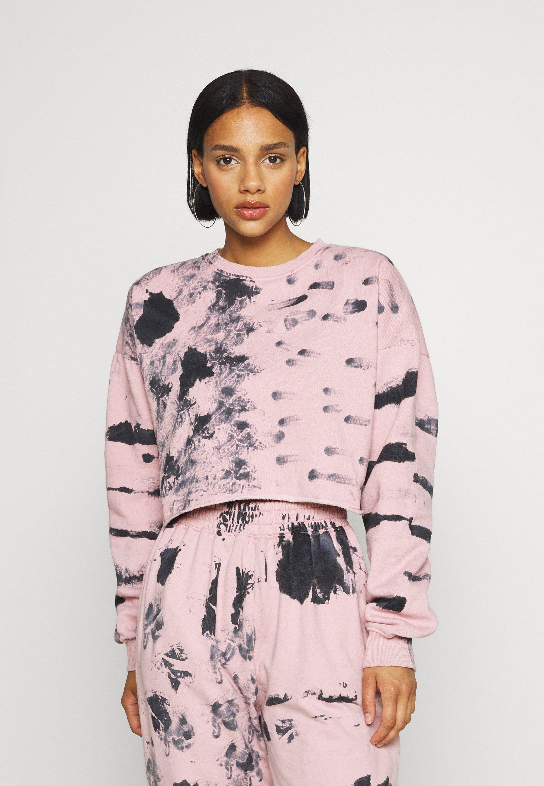 Women TIE DYE CROPPED  - Sweatshirt